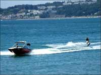 wakeboarding on saipan